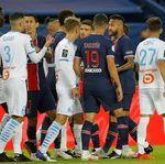 Ribut di Laga PSG Vs Marseille, Neymar Dihukum Dua Pertandingan