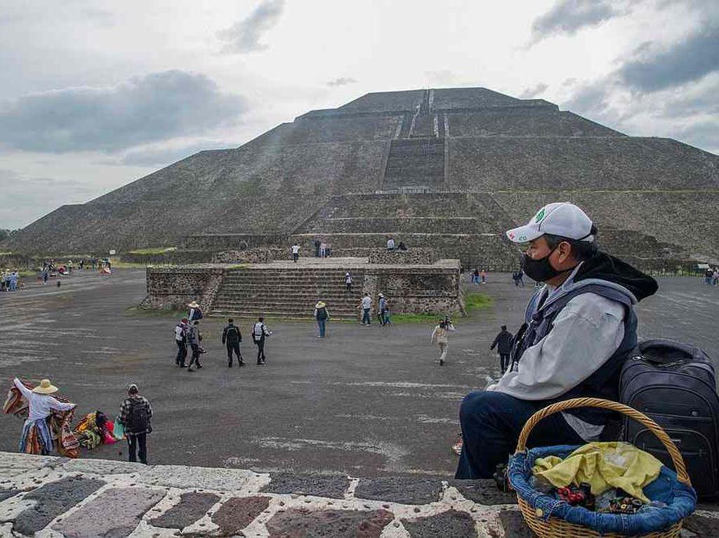 6 Bulan Hibernasi, Kota Dewa di Meksiko Hidup Lagi