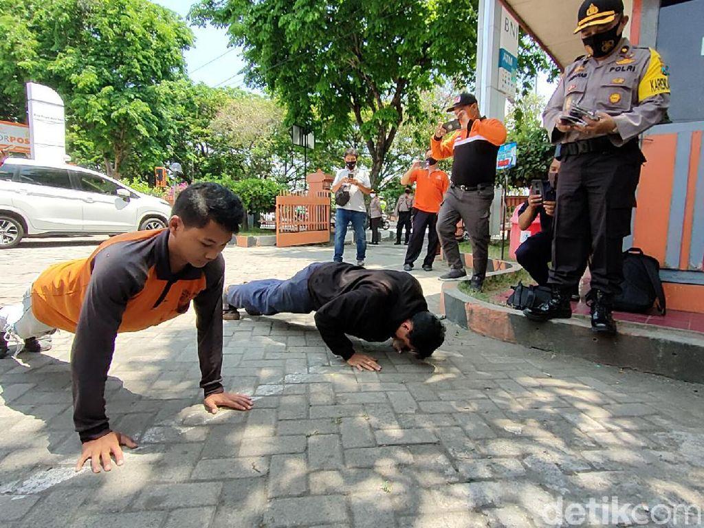 Tak Pakai Masker, 25 Warga Kota Kediri Terjaring Operasi Yustisi