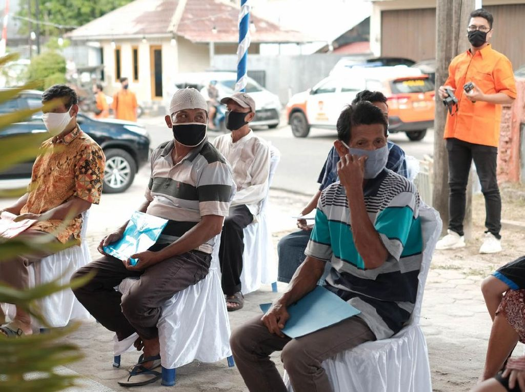Salurkan BST di Belitung, PT Pos Indonesia Gunakan Aplikasi