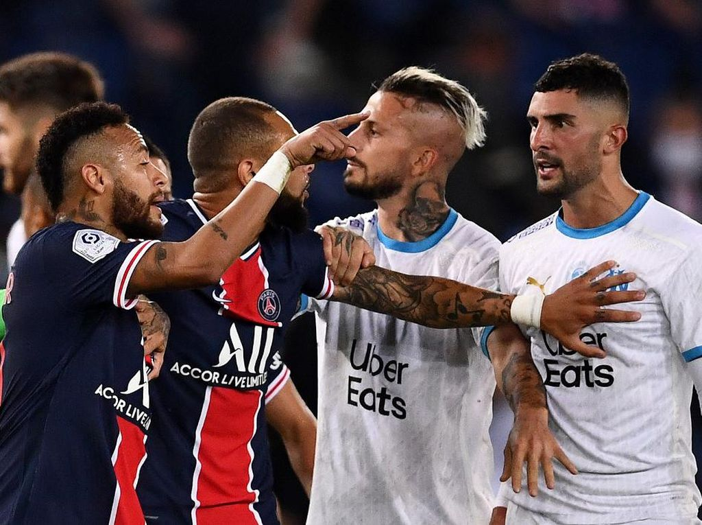 Usai Rusuh di Le Classique, PSG Diledek Pelatih Marseille