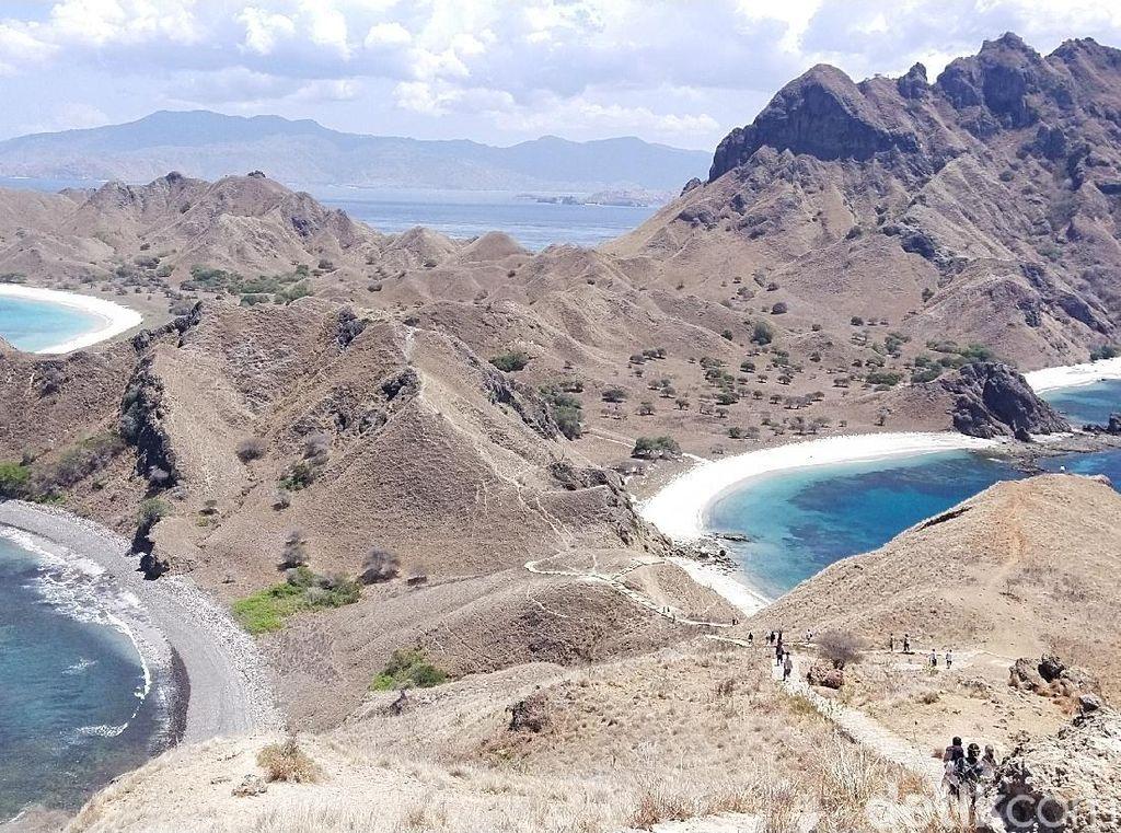 Foto: Pulau Padar yang Bikin Kangen Liburan