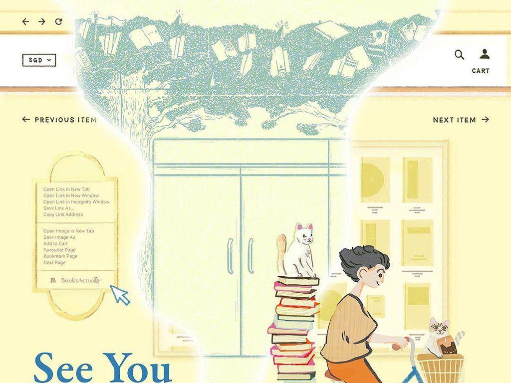 Toko Buku Indie BooksActually di Singapura Tutup Tokonya, Beralih ke Online