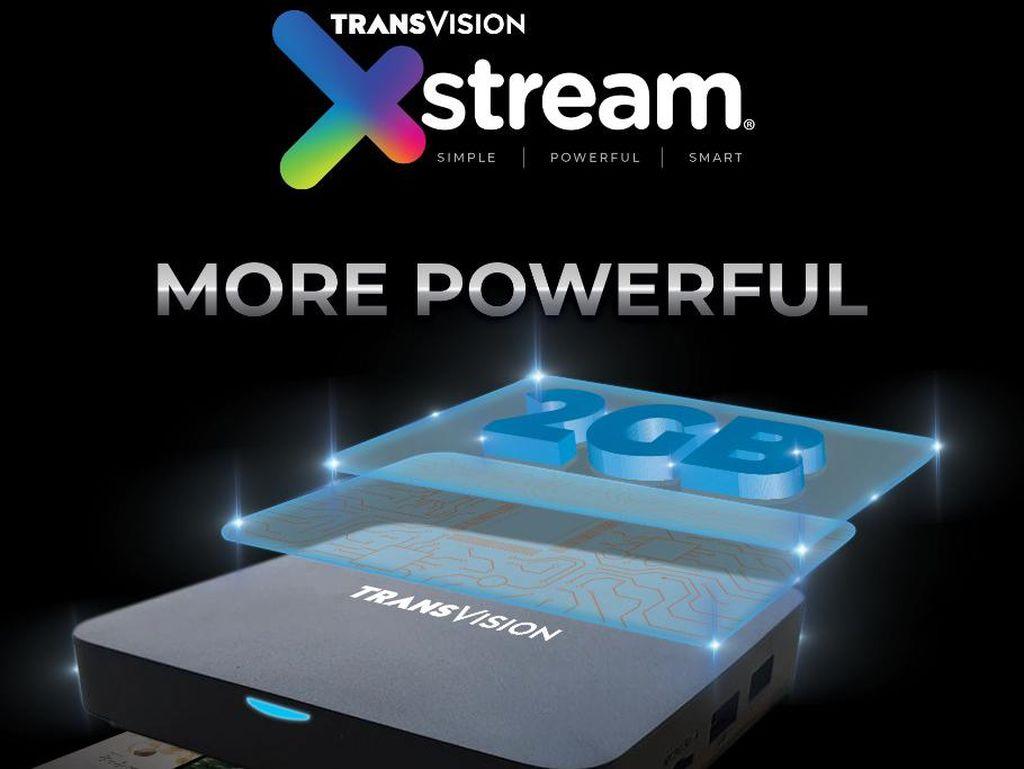 Transvision Luncurkan Xstream 2nd Gen, Biar Nonton Lebih Puas