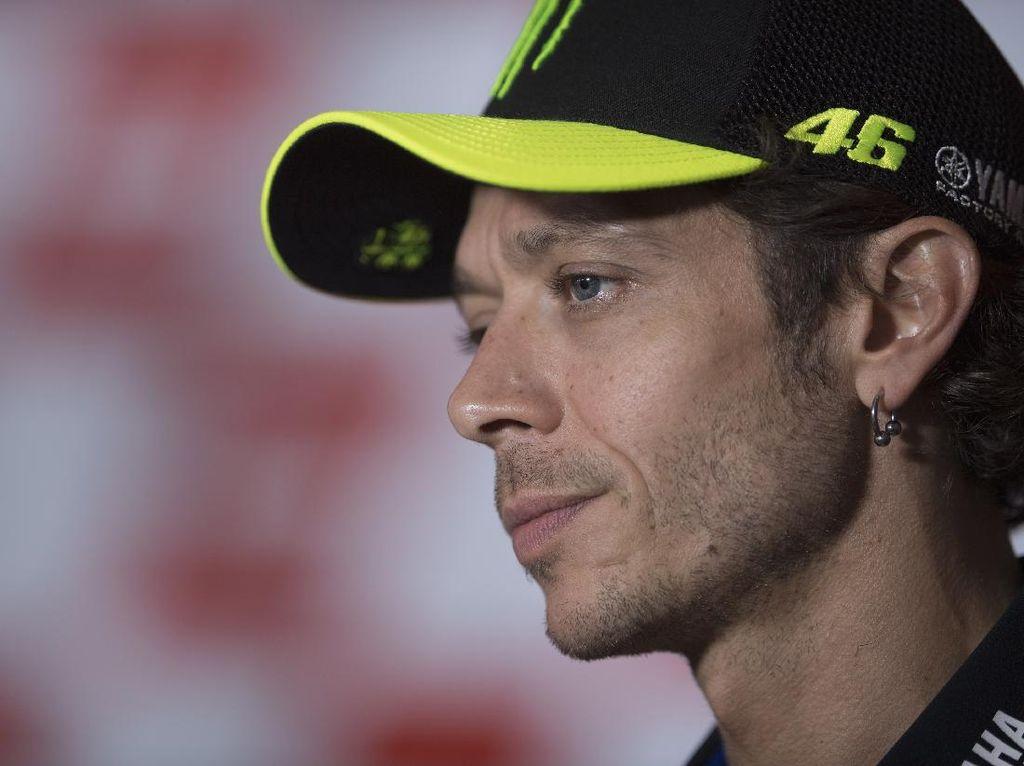 Penyesalan Valentino Rossi di MotoGP San Marino