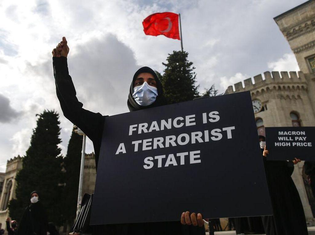 Giliran Turki Kecam Charlie Hebdo Soal Karikatur Nabi Muhammad