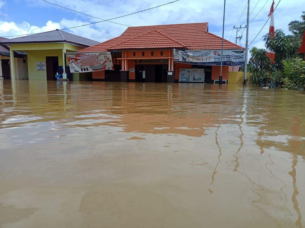 8 Kecamatan di Kalteng Masih Banjir, 16.459 Warga Mengungsi