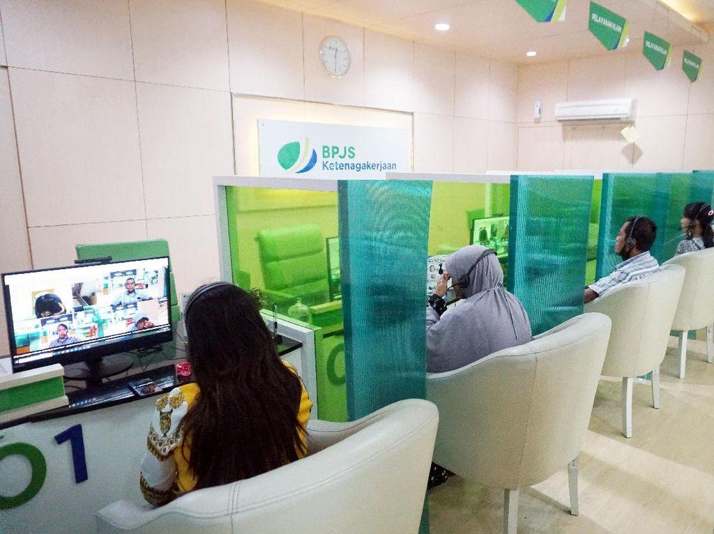 Dukung PSBB Jakarta Diperketat, BPJAMSOSTEK Optimalkan Lapak Asik