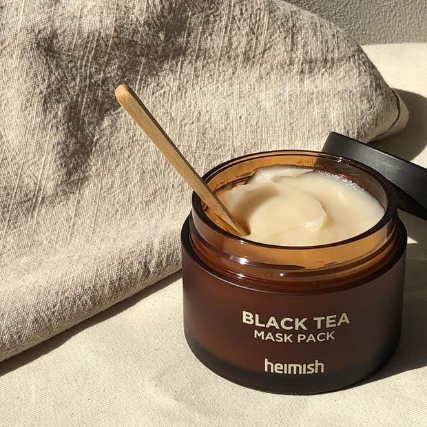 Review Heimish Black Tea Mask Pack.