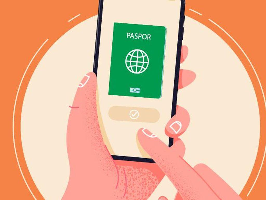 Cara Daftar Antrean Paspor Online, Nih