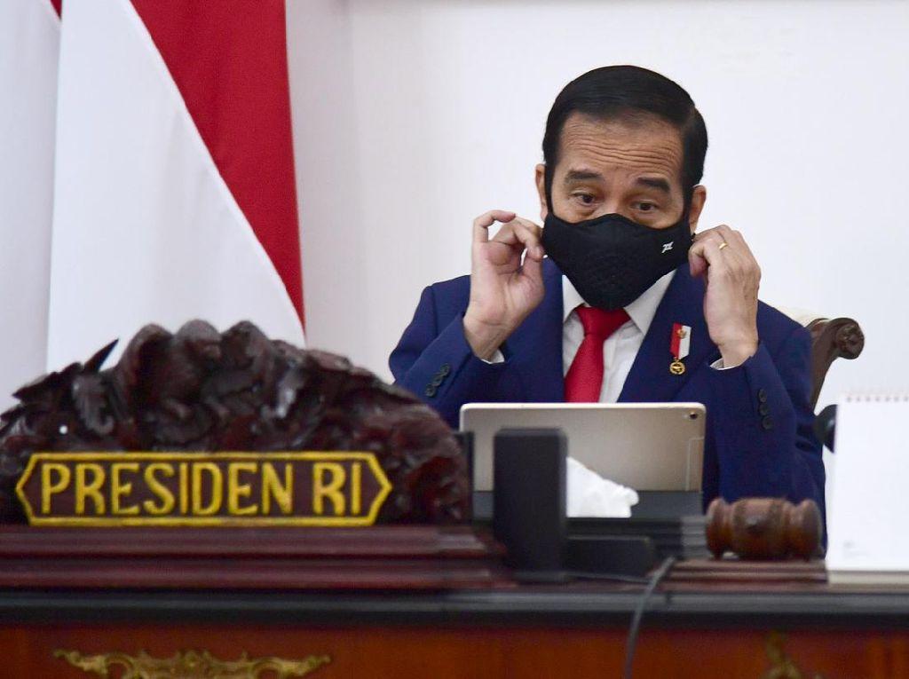 Jokowi Minta RI Terus Tekan Angka Kematian Corona yang Masih di Atas Dunia