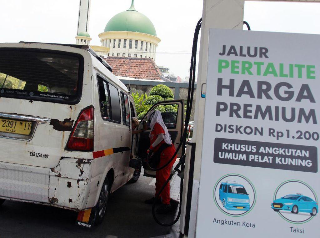 Pertalite Bakal Seharga Premium di Jawa-Sumatera