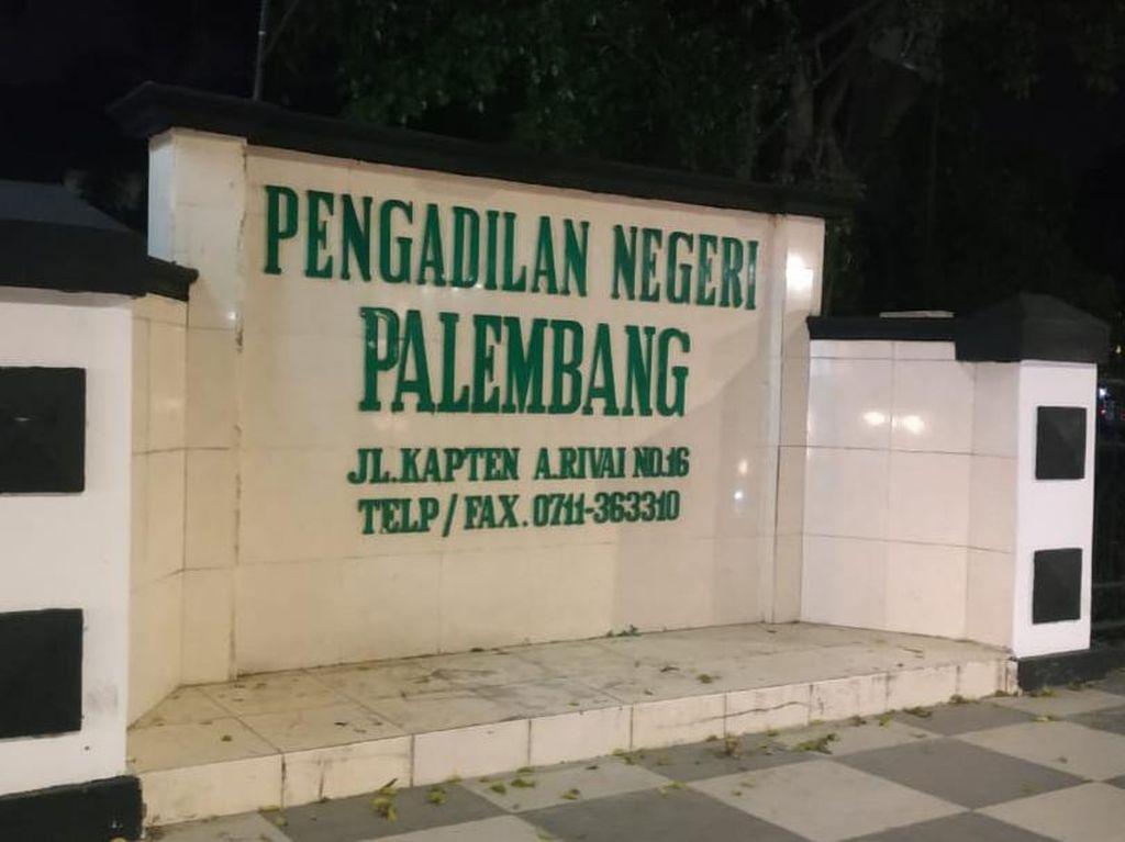 23 Pegawai Reaktif Corona, PN Palembang Tutup 3 Hari