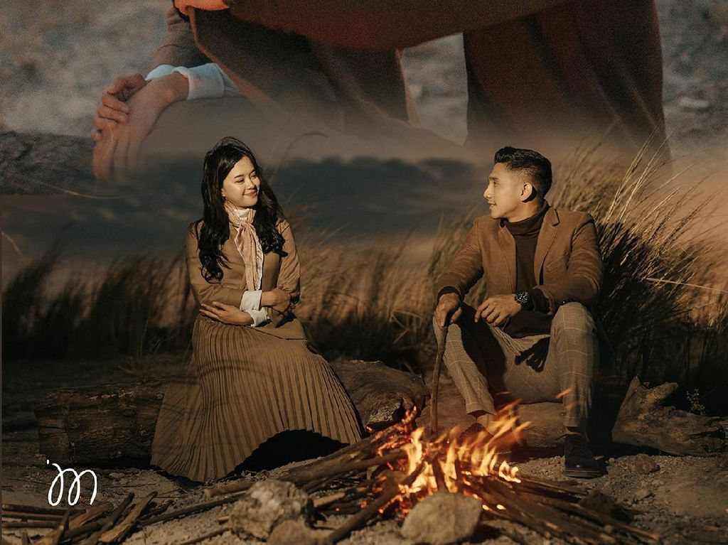 Viral Anggota DPR Prewedding ala Drakor Crash Landing On You, Bikin Baper