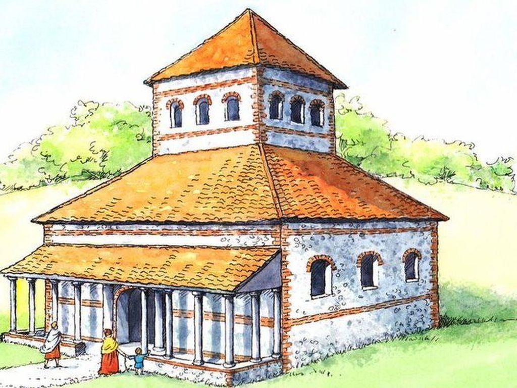 Salah Satu Kuil Romawi Terbesar di Inggris Ditemukan