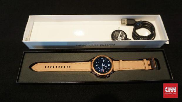 Samsung Galaxy Watch 3 smartwatch jam pintar