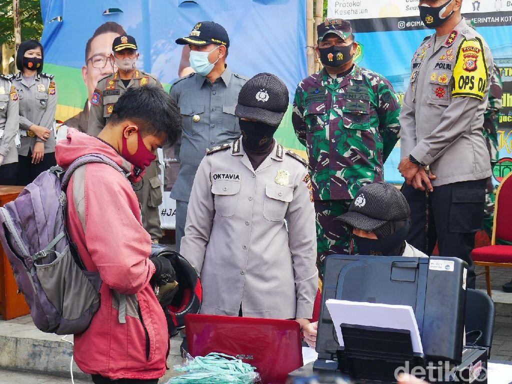 Sanksi Pidana Menanti Pelanggar Protokol Kesehatan Selama PSBM Cimahi