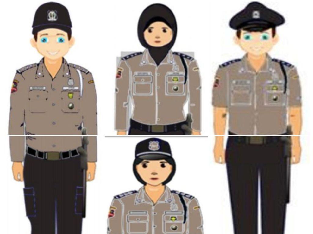 APSI: Seragam Cokelat Mirip Polisi Hanya untuk Satpam Kantor
