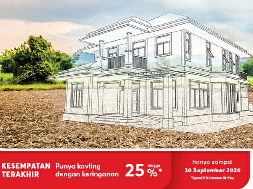 Beli Kavling di Sinar Mas Land Bisa Bangun Rumah Desain Sendiri