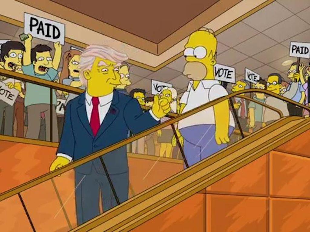 Bukan Isapan Jempol, 9 Ramalan The Simpsons Ini Jadi Kenyataan