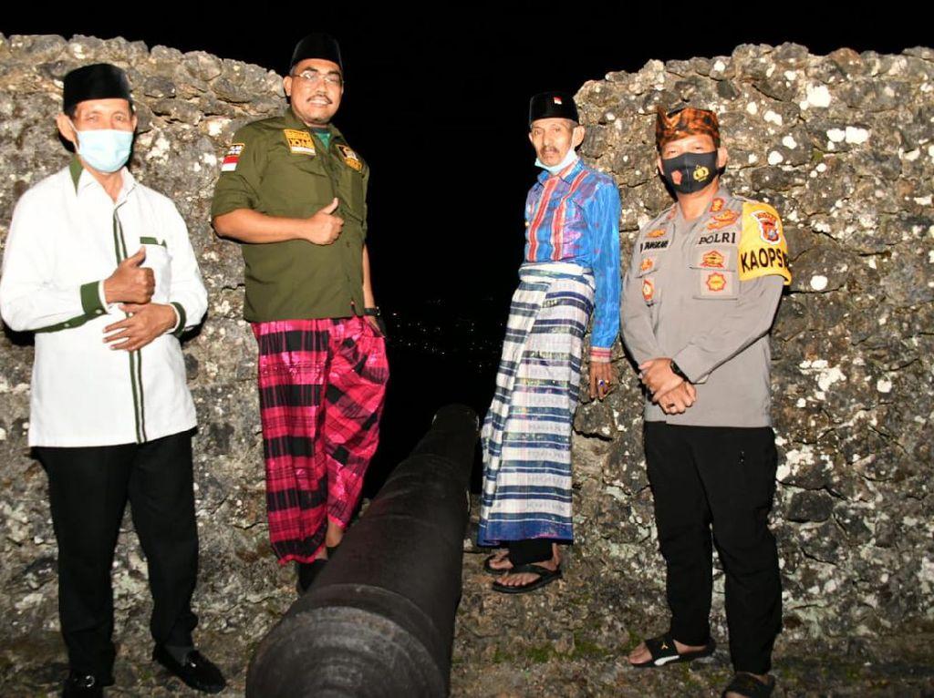 Waket MPR Gus Jazil Keliling Benteng Kesultanan Buton, Ini Pesannya