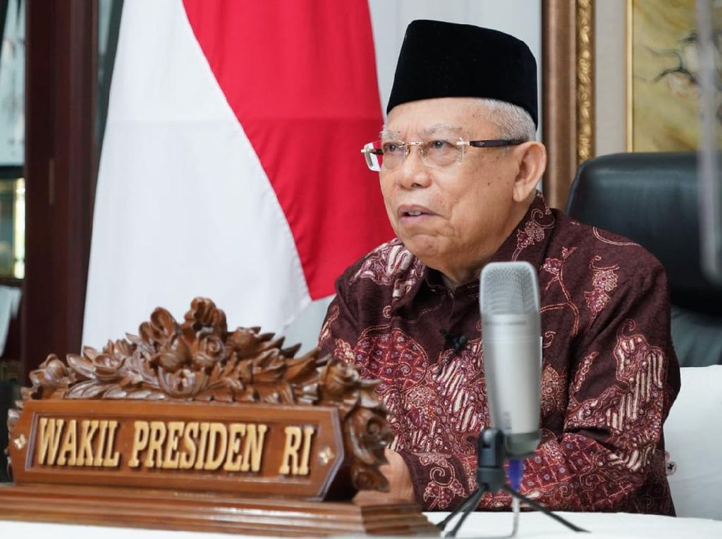 Maruf Amin: RI Hanya Jadi Konsumen dan Tukang Stempel Produk Halal