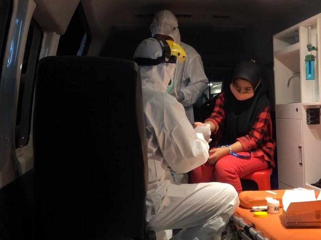 Operasi Yustisi, 6 Warga Tak Pakai Masker di Makassar Dirapid Test