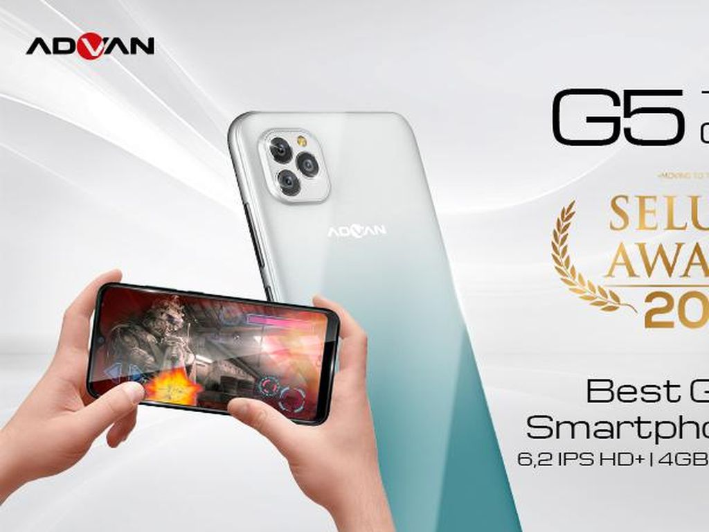 Raih Best Gaming Award, Advan G5 Lancar Main Mobile Legend Hingga AOV