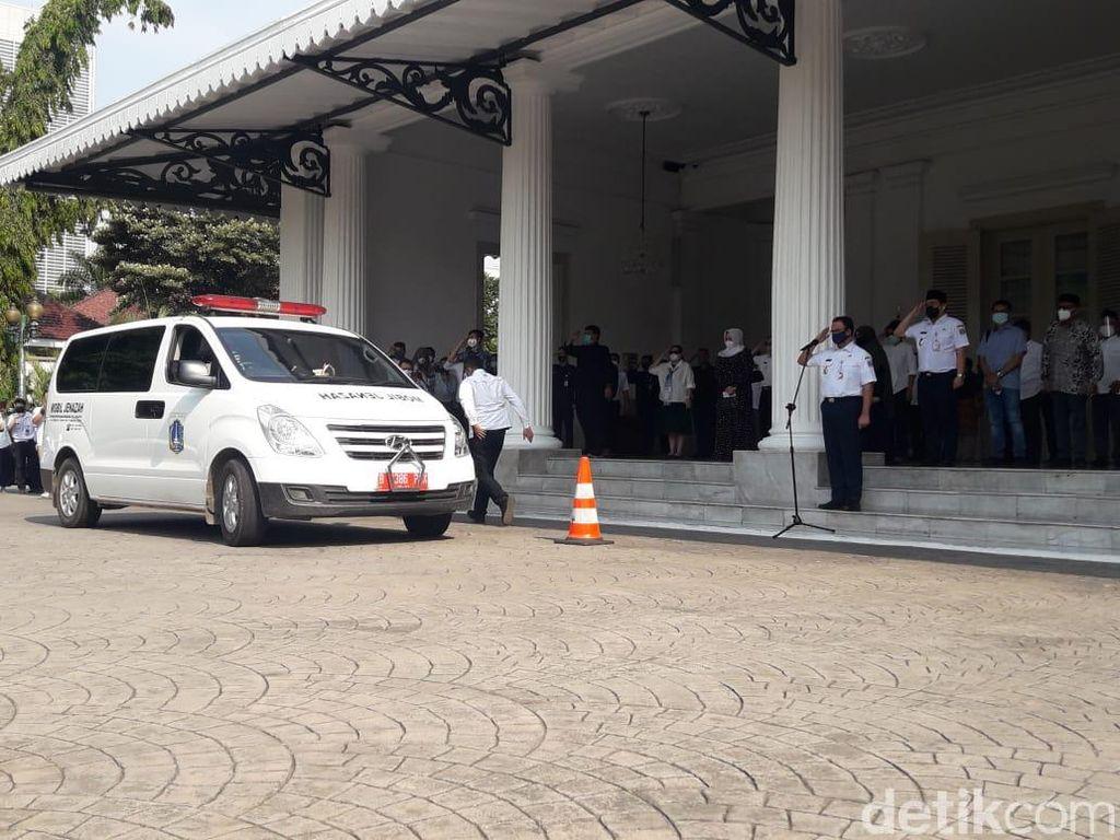 Anies Dikritik, Pemprov DKI Jelaskan Bawa Jenazah Saefullah ke Balai Kota