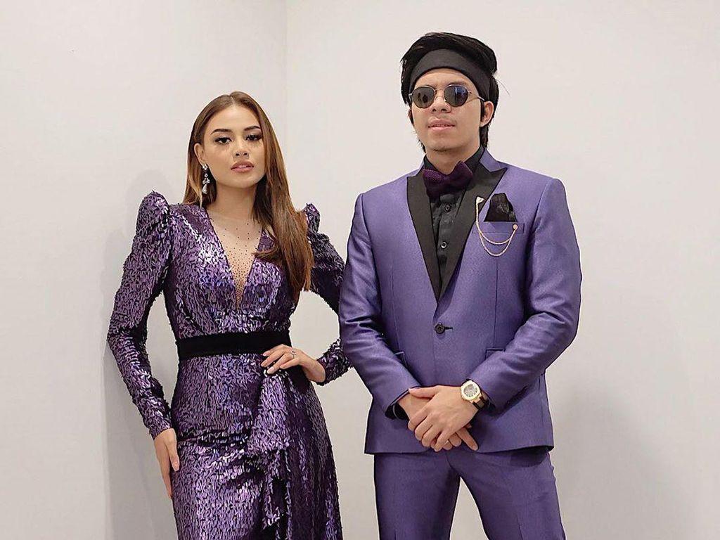 8 Foto Kompak Atta Halilintar & Aurel dengan Pakaian Senada, Bak Prewedding