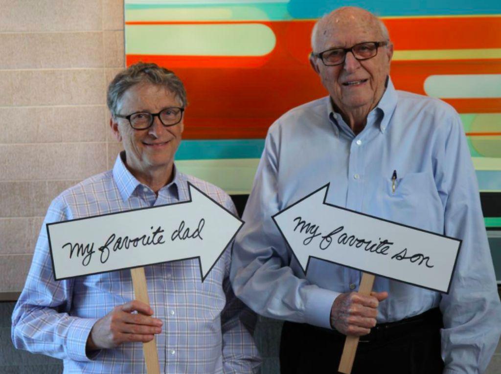 Kisah Menarik Bill Gates Sr Besarkan Bill Gates Muda