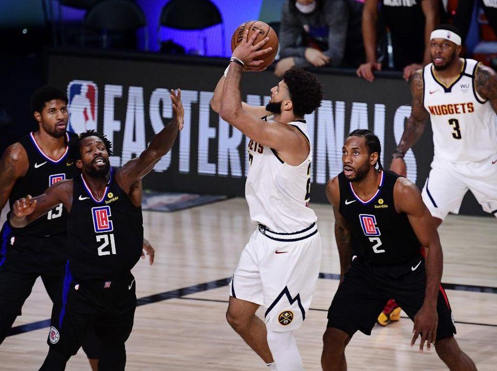 Dramatis, Nuggets Gagalkan Clippers-Lakers di Final Wilayah