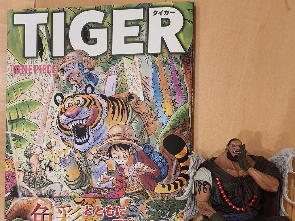 Sambil Tunggu Kelanjutan One Piece, Eiichiro Oda Ajak Mewarnai di Buku Terbaru