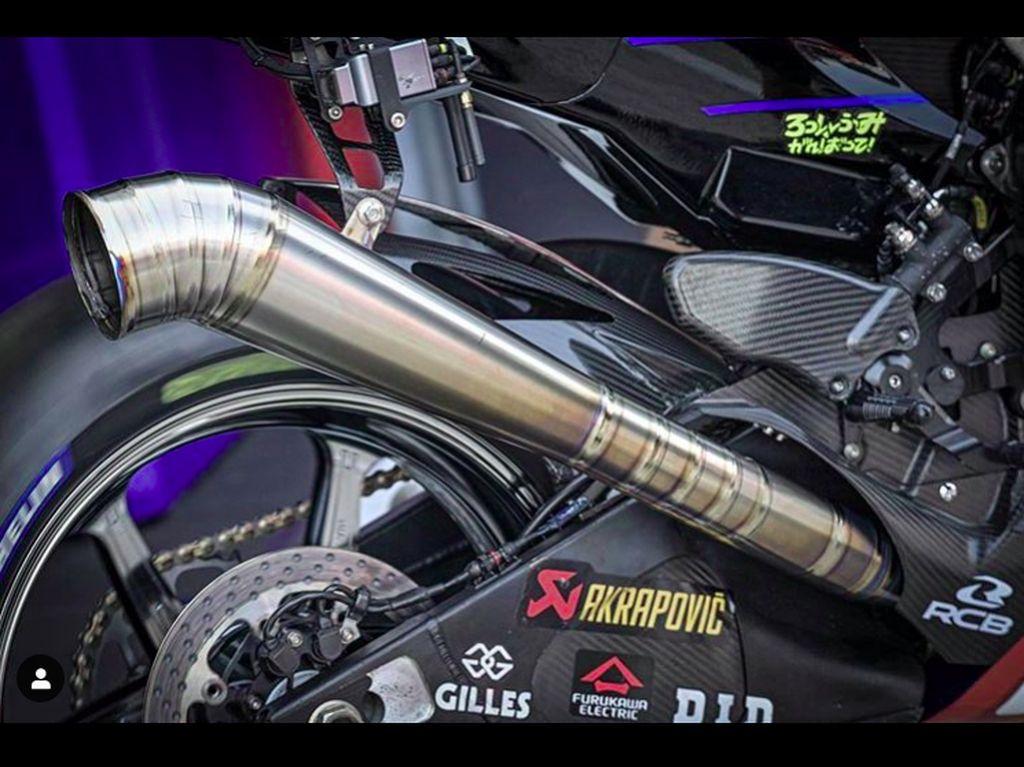 MotoGP 2020: Yamaha Pakai Knalpot Lebih Panjang, Apa Efeknya?