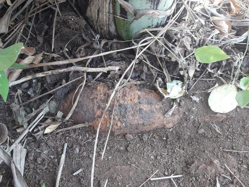 Petani di Gowa Temukan 3 Mortir Aktif Saat Bersihkan Kebun