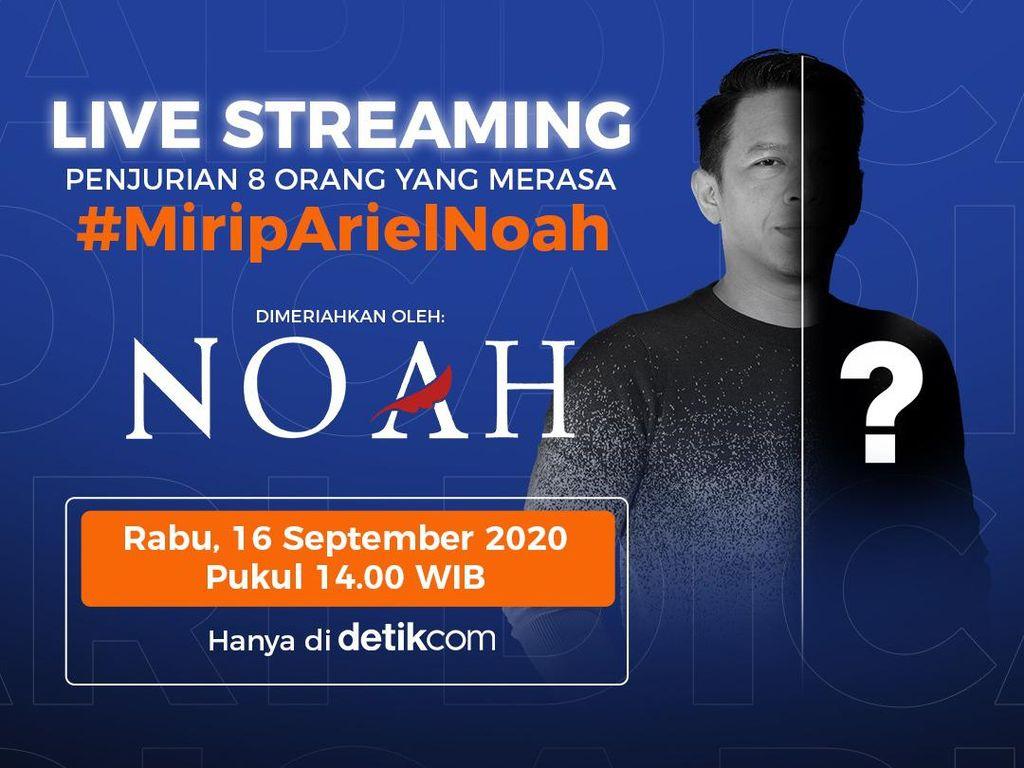 Siapa yang Paling Mirip Ariel NOAH? Tonton di detikcom!