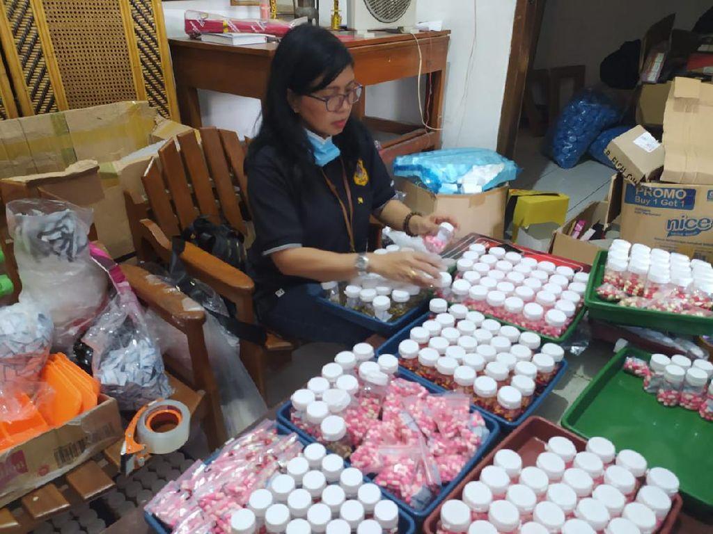 769 Ribu Kapsul Obat Pelangsing Ilegal Disita BBPOM Semarang