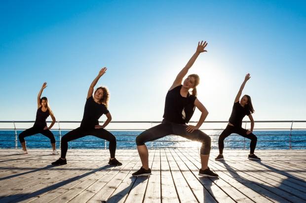 zumba dapat menjadi olahraga untuk meningkatkan kesehatan mental
