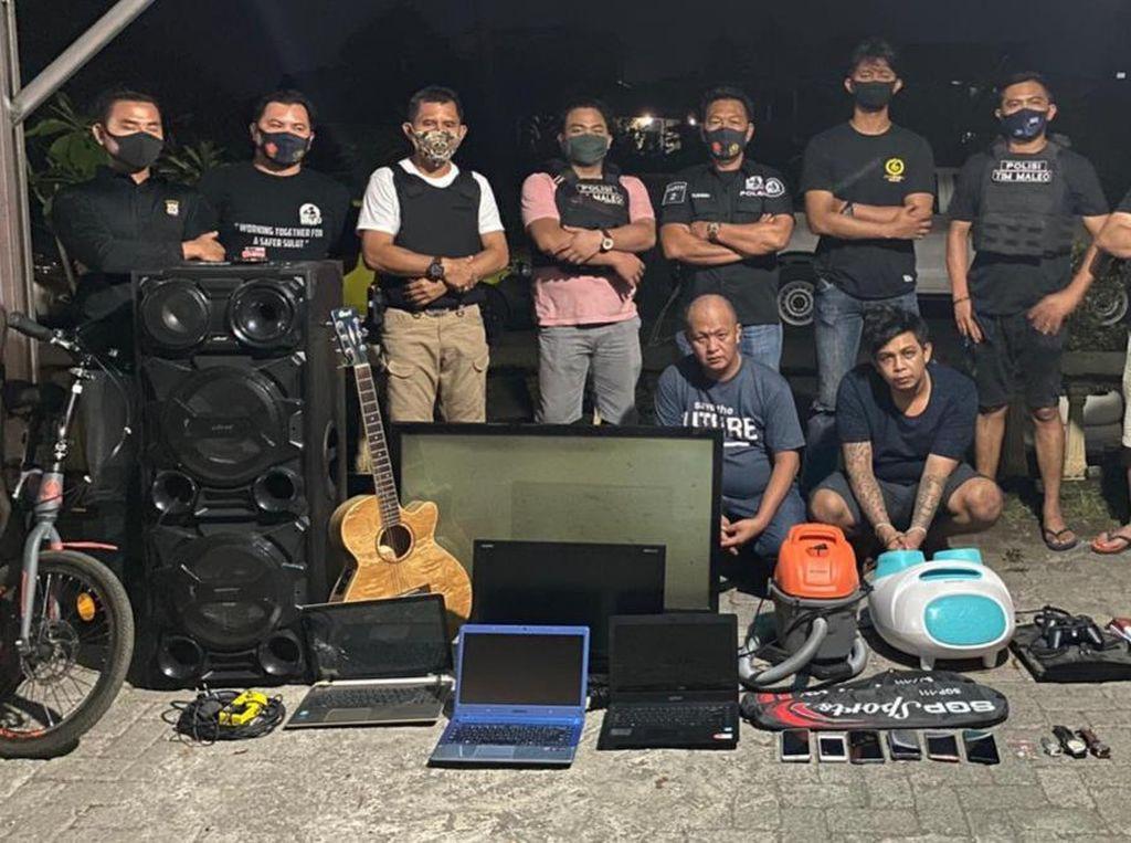 Komplotan Pencuri di Rumah Ibadah di Sulut Ditangkap