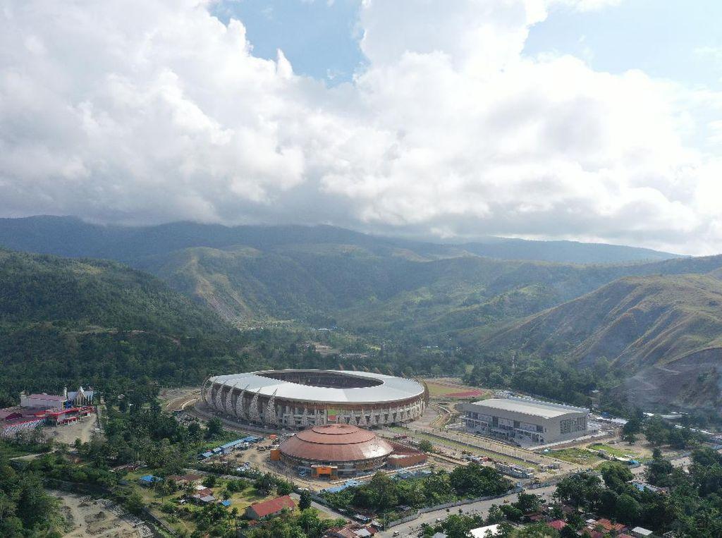 Segera Rampung, Ini Penampakan Megahnya Istora Papua