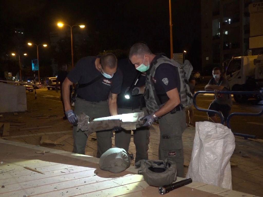 Rudal dari Gaza Ditembakkan ke Israel