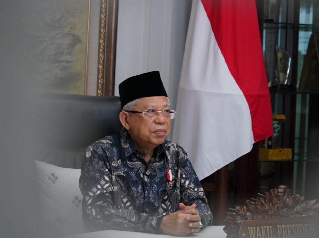 Jubir: Wapres Maruf Amin Tak Masalah Bertemu Habib Rizieq