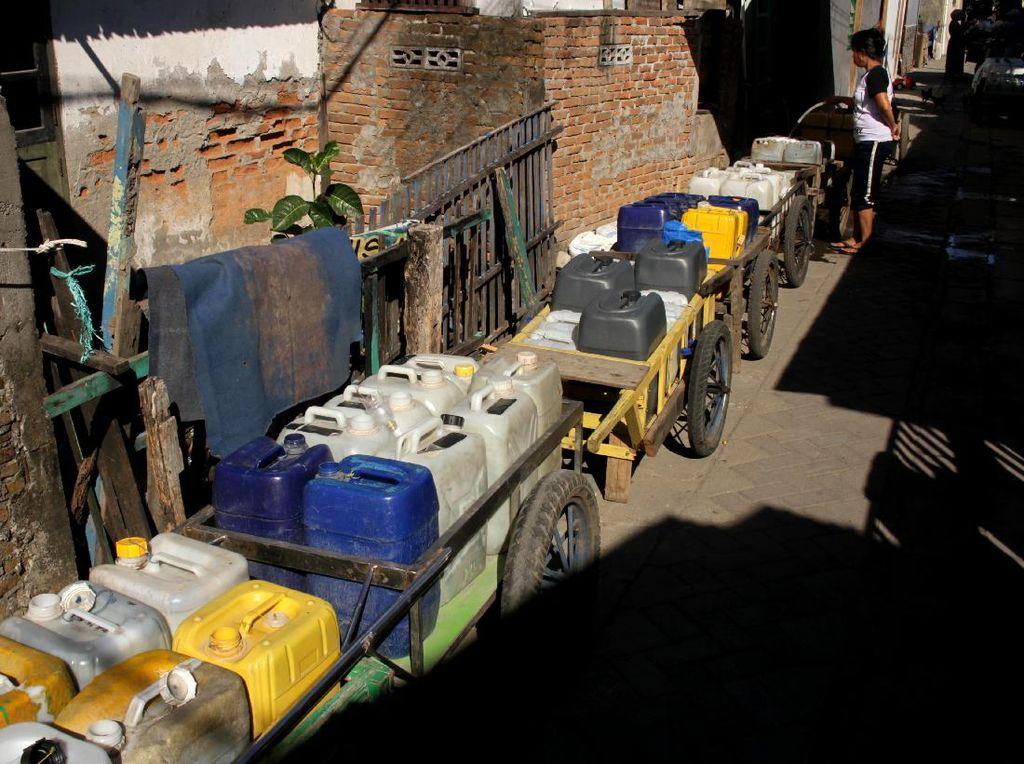 Warga Kelurahan Tallo, Makassar Kesulitan Air Bersih