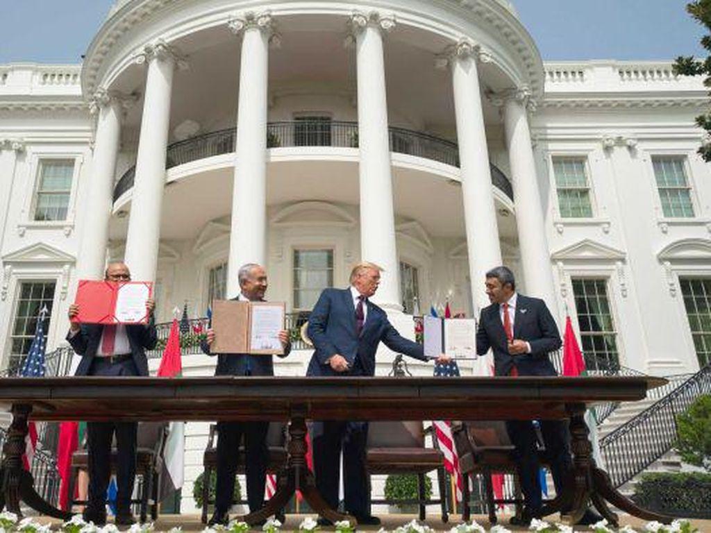 Warga Palestina Merasa Perjanjian Negara Arab-Israel Sebuah Pengkhianatan