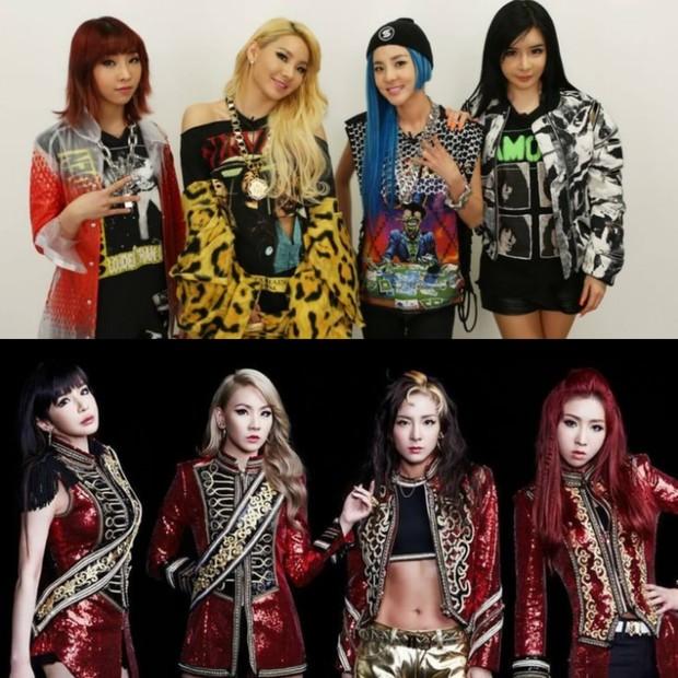 Girl group 2NE1 memang dikenal sejak era debutnya dengan konsep girl crush mereka.