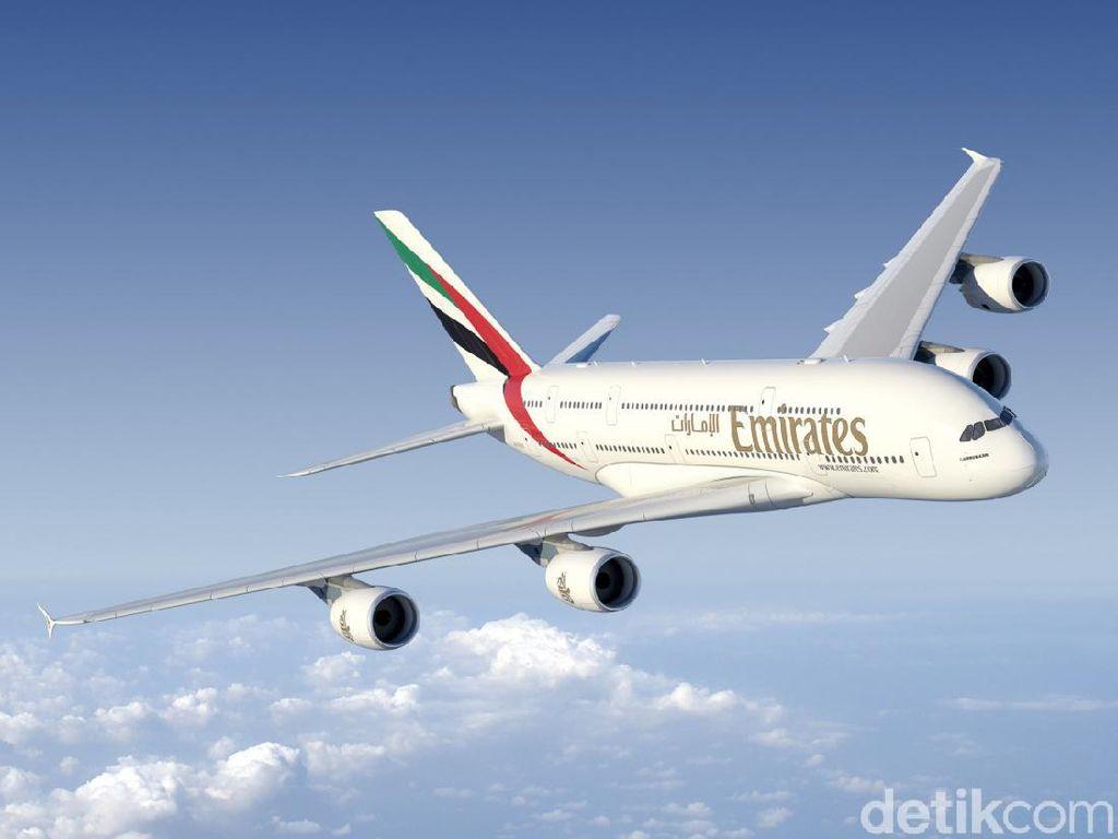 Pesawat Jumbo A380 Kembali Mengangkasa