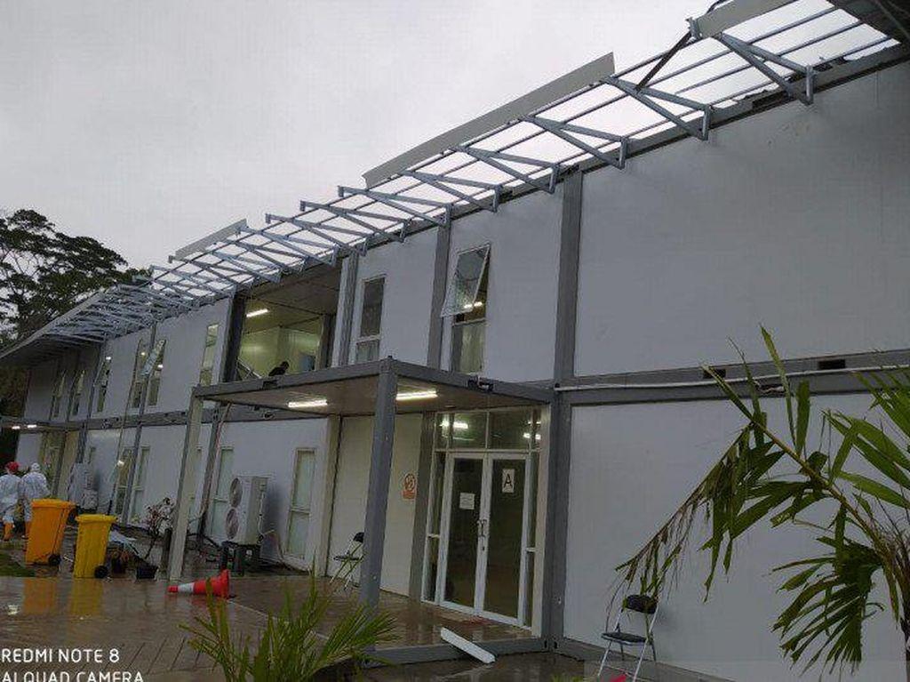 Sempat Terdampak Puting Beliung, RS Corona Pulau Galang Tetap Beroperasi
