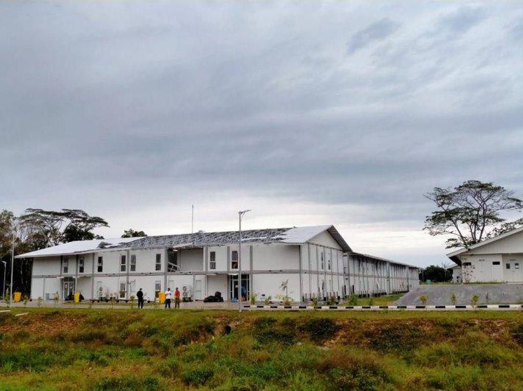 Penjelasan Kontraktor soal Perbaikan RS Pulau Galang Usai Puting Beliung
