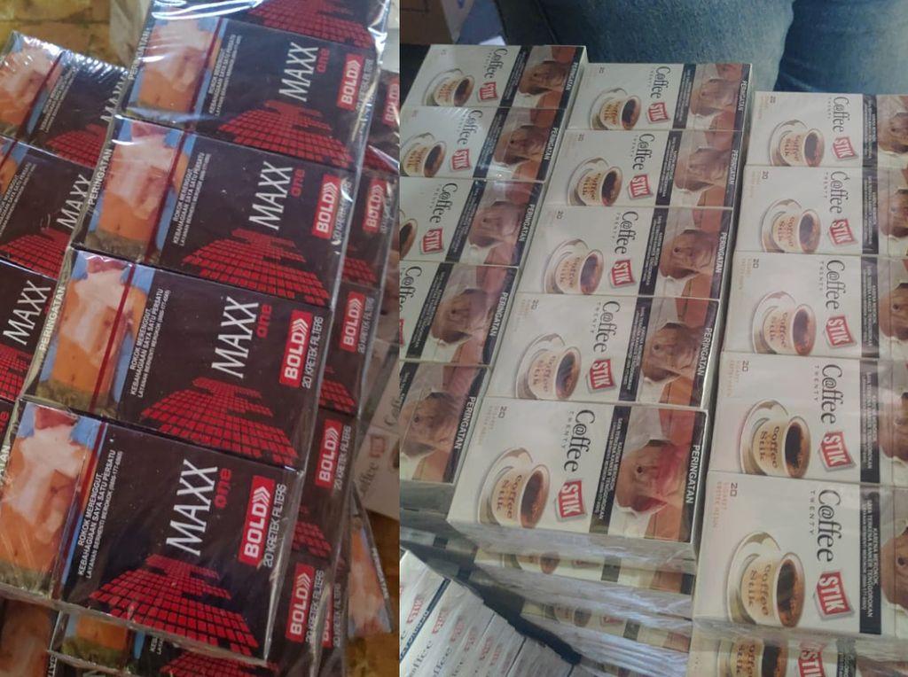 887.680 Batang Rokok Ilegal Diamankan dari Rumah Pengepakan di Jepara