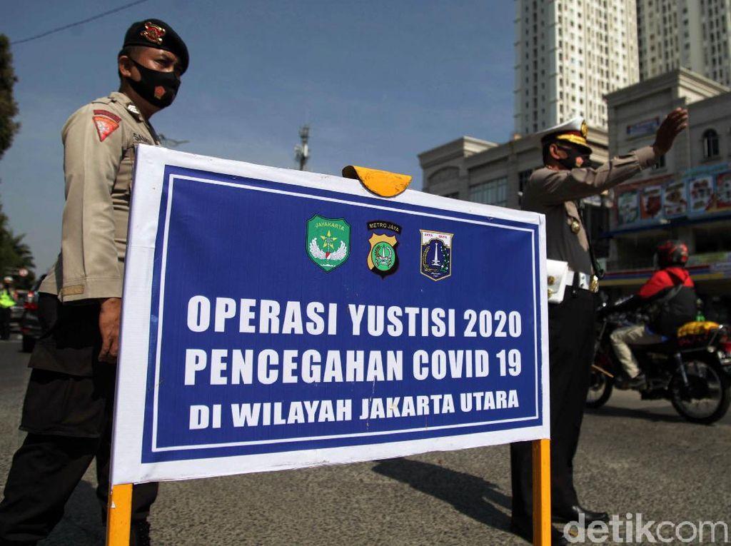 4 Hari Operasi Yustisi, 22.801 Pelanggar Protokol COVID di DKI Ditindak